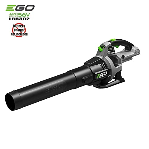 EGO Power 110 MPH 530 CFM Variable-Speed Turbo 56-Volt Lithium-ion Cordless Electric Blower – Battery and Charger Not Included