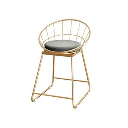Brilliant Amazon Com Juanxiao Counter Chair Home Seat Metal Stool Unemploymentrelief Wooden Chair Designs For Living Room Unemploymentrelieforg
