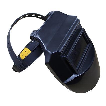 Máscara de soldar profesional, protección facial, ideal para soldaduras por arco, TIG y