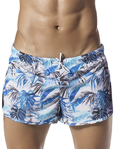 Clever Swimwear (Clever 0609 Life Guard Jungle Short Color Blue Size)