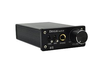 ZHILAI H9 DC 24V Digital HIFI Earphone Amplifier Headphone Amp TPA6120A2 Chip