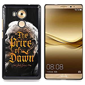 - Price Of Dawn Golden Calligraphy Book - - Snap-On Rugged Hard Cover Case Funny HouseFOR Huawei Mate 8