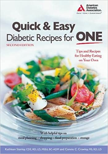 Quick easy diabetic recipes for one kathleen stanley cde quick easy diabetic recipes for one kathleen stanley cde connie crawley ms 9781580402644 amazon books forumfinder Choice Image