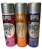 U-Pol All in One Kit: HIGH#5 Primer, Grip#4 Adhesion Promoter, and Clear#1 High Gloss Clear