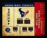 Team Sports America Houston Texans Bluetooth Scoreboard Wall Clock