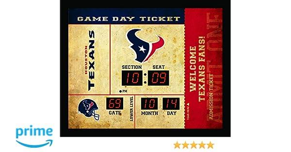 Amazon.com : Team Sports America Houston Texans Bluetooth Scoreboard ...