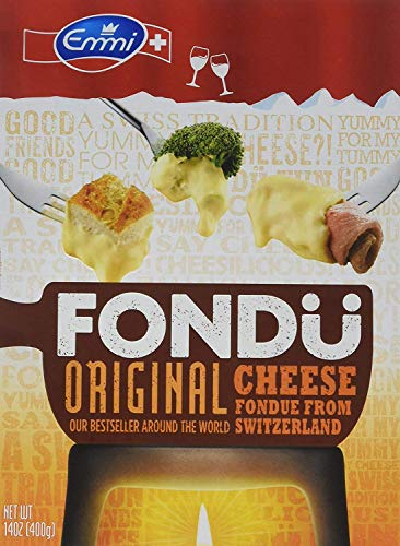 Fondue Cheese - Fondue Suisse Original (Pack of 4)