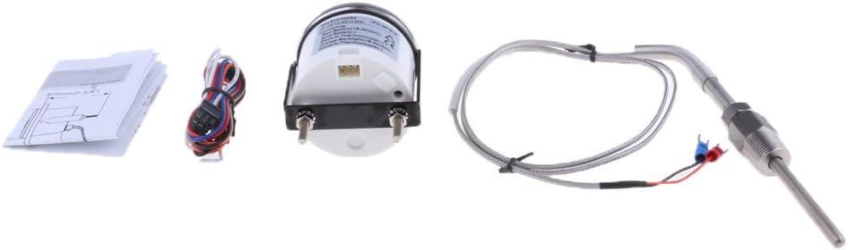 # 1 IPOTCH Medidor Indicador Temperatura de Gas de Escape Modificaci/ón Reparaci/ón de Barco