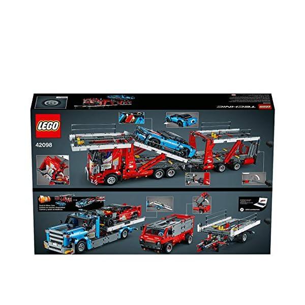 LEGO - Technic Bisarca con Auto da Trasportare,Modello 2in1,Set di Costruzioni Avanzato, 42098 6 spesavip