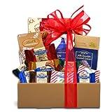 Frosty's Fantasy Holiday Snacks Gift Basket | for Men or Women