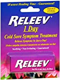 RELEEV 1 Day Cold Sore Treatment 6 mL (Pack of 6)
