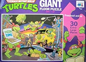Amazon.com: Teenage Mutant Ninja Turtles 30 Piece Giant ...
