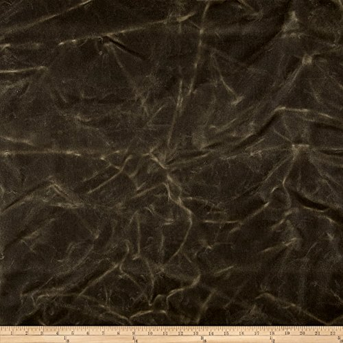 Carr Textile Heavyweight Waxed Twill Fabric by The Yard, Olive