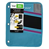 Five Star Zipper Pencil Pouch, Pencil Case, Assorted, Color Selected For You May Vary (50642)