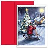 Best JAM Paper Friends Christmas - JAM Paper Christmas Card Set - Best Friends Review