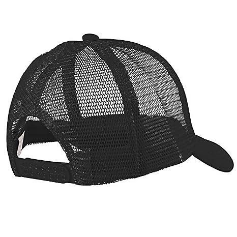 5a0478a88 Trucker Hat Baseball Cap Mesh Caps Blank Plain Hats Black: Amazon.co.uk:  Kitchen & Home