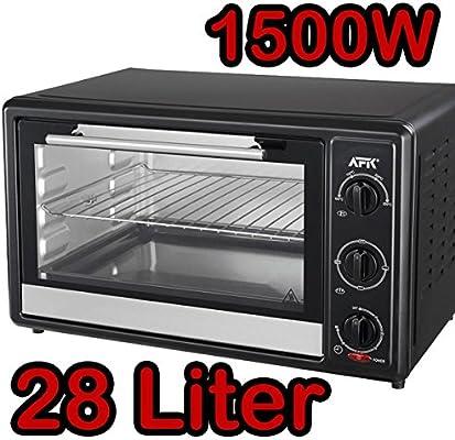 1500 W Mini - Horno con temporizador 28 litros mini horno horno ...