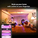 Philips Hue White and Color Ambiance A19 LED Smart