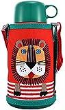 Tiger 虎牌 儿童保温杯MBR-S06G-R600毫升 小狮子爆款 双杯盖款 吸管