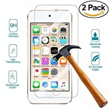 iPod Touch 6th Generation Screen Protector ,PEWELL New iPod touch Premium Tempered Glass Screen Protector for iPod Touch 6G/5G(6th/5th Generation)-[2Pack]