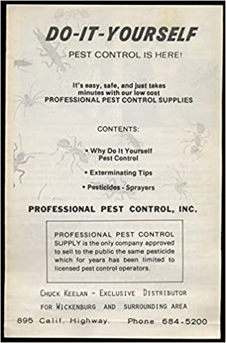 Do it yourself pest control is here inc professional pest control do it yourself pest control is here inc professional pest control supply amazon books solutioingenieria Gallery