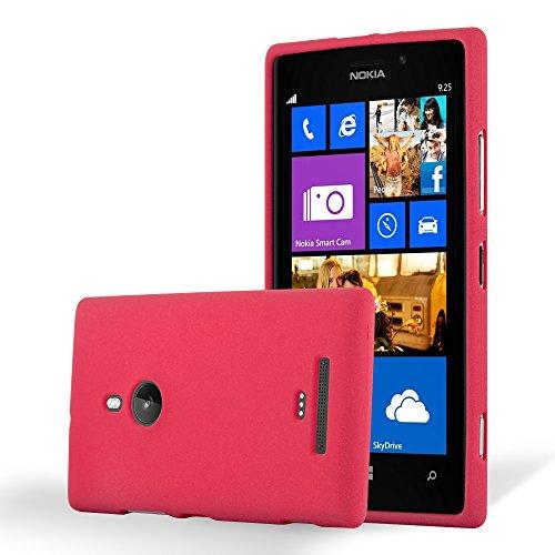 Cadorabo - Cubierta protectora para Nokia Lumia 925 de silicona TPU en diseño Escarcha