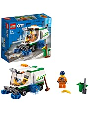 LEGO City Great Vehicles 60249 Street Sweeper Building Kit (89 Pieces)