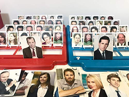 - Guess Who The Office Edition, Parody Game, The Office TV Show, The Office Gifts, Guess Who version The Office