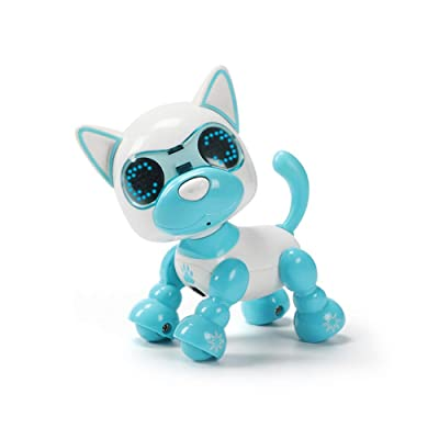 DUOUH Children's Smart Pet Robot Dog Induction Touch Electric Toy Puppy Intelligent Electronic Pet: Home & Kitchen