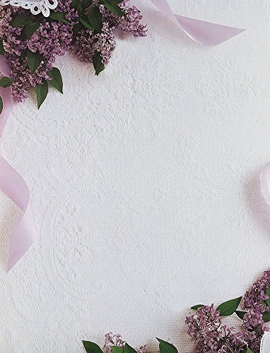 Great Papers! Lilacs & Lace Letterhead, 80 Count, 8.5″x11″ (2014291)