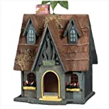 Thatched Cottage Birdhouse
