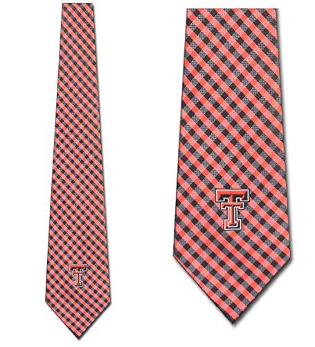 Texas Tech Tie - Texas Tech Ties Mens Red Raiders College Sports Necktie