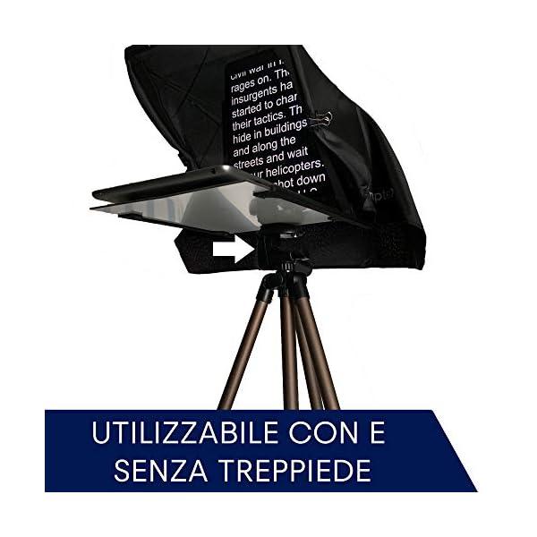 Teleprompter by Leeventi v. 3.0 (Grande schermo riflettente) 6 spesavip