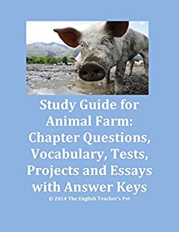 Essay Style Paper Study Guide Of Animal Farm Chapter Questions Vocabulary Tests And Essay  Prompts With Learning English Essay Writing also High School Essays Topics Amazoncom Study Guide Of Animal Farm Chapter Questions  Cheapest Writing Service On The Internet