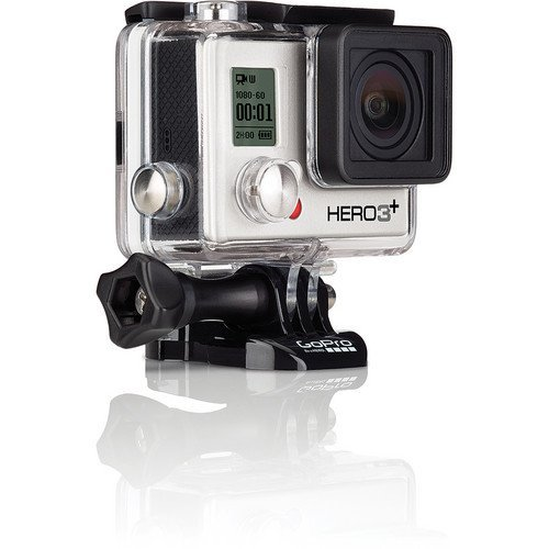 GoPro HERO3+ Silver Edition Camera (CHDHN-302) + Action Pro Series All In 1 Surf Kit Designed for Surboard Mount, PADDLEBOARD, KITEBOARD, WINDSURF, JET SKI, BOAT, Wave Runner, surfboard, bodyboard, ski, snowboard, kayak, wakeboard, & More watersports!! + Extra Necessary Accessories