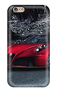 LatonyaSBlack Scratch-free Phone Case For Iphone 6- Retail Packaging - Alfa Romeo 4c 3