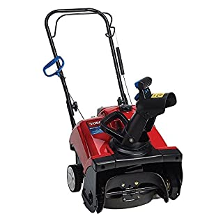 single stage gas snow blower