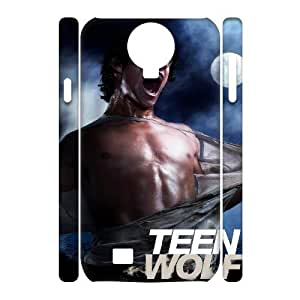 WJHSSB Cell phone Cases Teen Wolf Hard 3D Case For Samsung Galaxy S4 i9500
