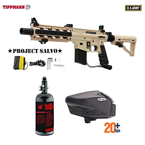 Custom Adjustable 98 Rail Sight (MAddog Tippmann Project Salvo HPA Paintball Gun Package A - Tan)