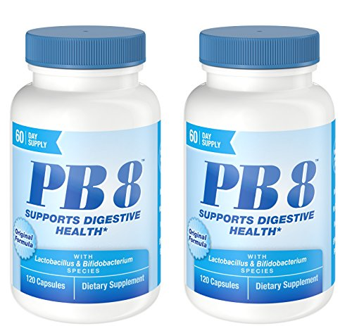 Nutrition Now Pb 8 Pro-biotic Acidophilus for Life -- 120 Capsules X 2
