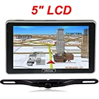 4UCam 5-inch LCD Touch Screen GPS + Wireless Backup license Camera w/Bluetooth System