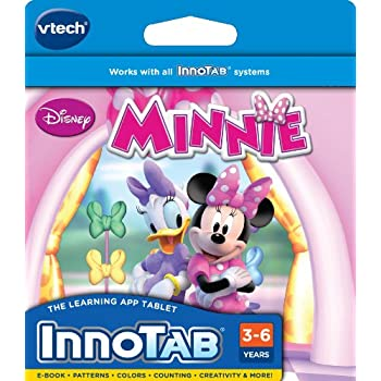 VTech InnoTab Software, Disney's Minnie's Bow-Toons