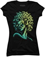 Funky Medusa Juniors' Graphic T Shirt - Design By Humans