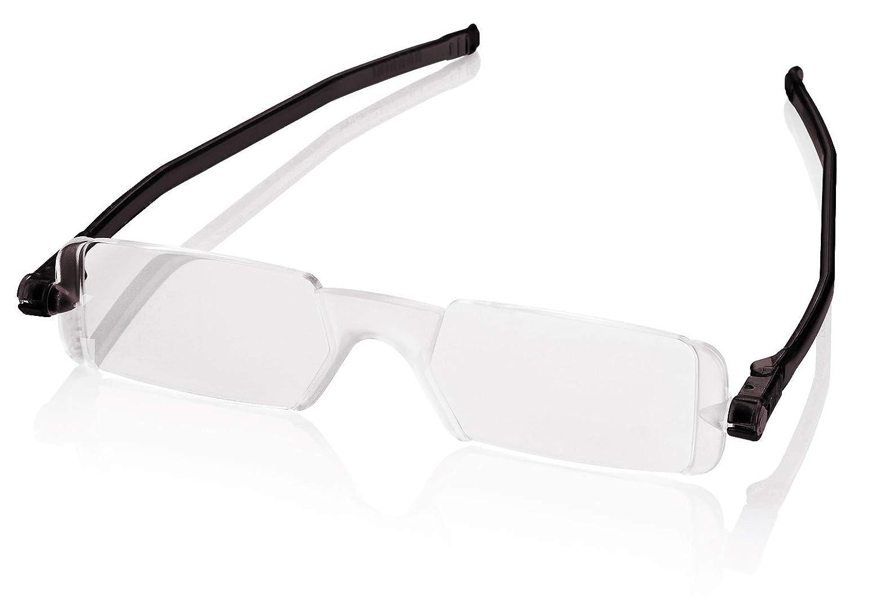 Amazon.com: Nannini anteojos de lectura, compactos, patillas ...