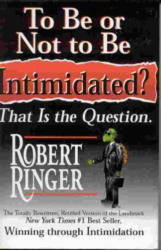 Download To Be or Not to Be Intimidated? That Is the Question. ebook