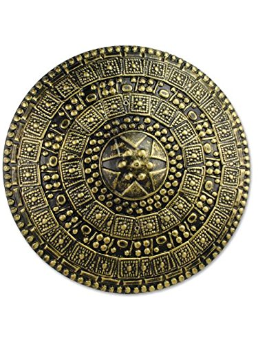 Forum Novelties Roman Shield, Gold -