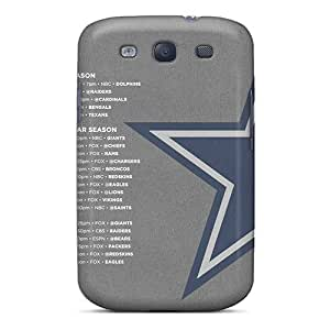 Anti-scratch And Shatterproof Dallas Cowboys Phone Cases For Galaxy S3/ High Quality Tpu Cases