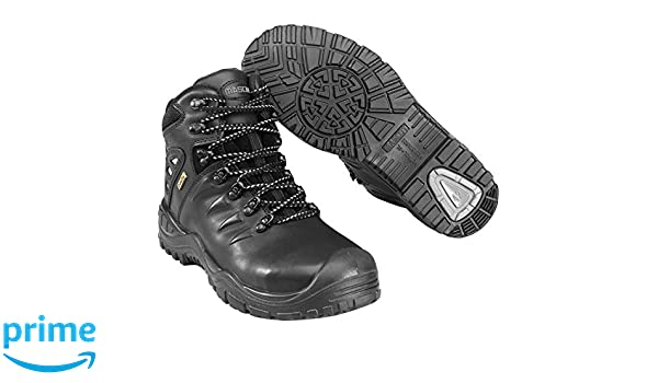 Mascot F0169-902-09-1139 Kamet Plus Safety Boot, W11/39, Black - - Amazon. com