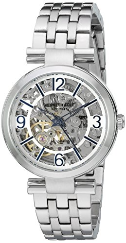 Kenneth Cole New York Women's ' Automatic Stainless Steel Dress Watch, Color:Silver-Toned (Model: 10022295)