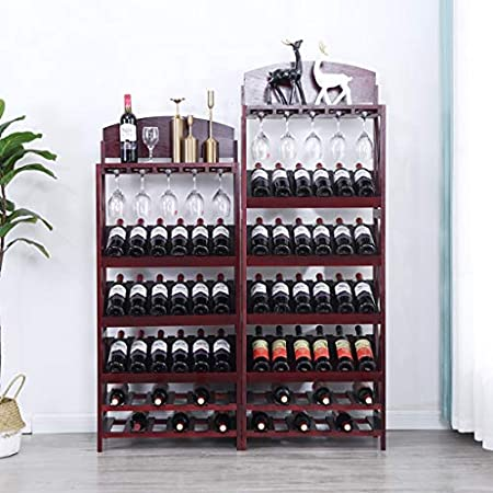 Soporte De Vidrio Al Revés Botellero Estante Vinoteca De Madera Maciza Botellero Soporte De Copa De Vino Al Revés Rejilla De Cristalería Se Pueden Colocar 36 Botellas Bastidores de Stemware